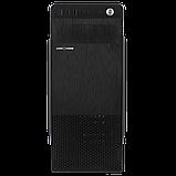 Корпус LP 2008-450W 12см black case chassis cover с 2xUSB2.0 и 1xUSB3.0, фото 2