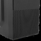 Корпус LP 2008-450W 12см black case chassis cover с 2xUSB2.0 и 1xUSB3.0, фото 5