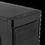 Корпус LP 2006-450W 8см black case chassis cover, фото 4
