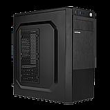 Корпус LP 2009-450W 12см black case chassis cover с 1xUSB2.0 и 2xUSB3.0, фото 3