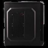 Корпус LP 2011-400W 8см black case chassis cover с 2xUSB2.0 и 1xUSB3.0, фото 5