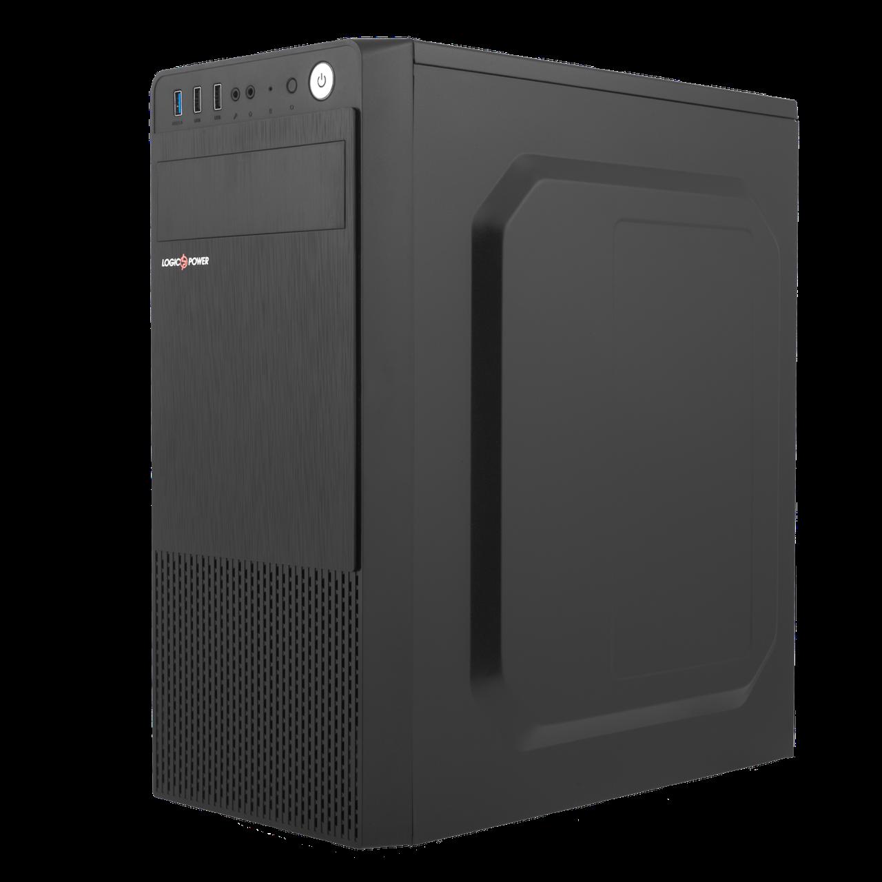 Корпус LP 2008-450W 8см black case chassis cover с 2xUSB2.0 и 1xUSB3.0