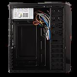 Корпус LP 2011-500W 12см black case chassis cover с 2xUSB2.0 и 1xUSB3.0, фото 4