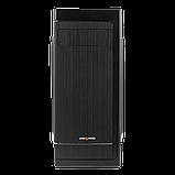 Корпус LP 2006-500W 12см black case chassis cover, фото 2
