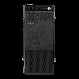 Корпус LP 2009-450W 8см black case chassis cover с 1xUSB2.0 и 2xUSB3.0, фото 2