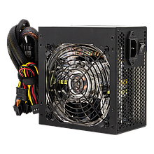 Блок питания ATX-500W 12 см 3 SATA OEM APFC LED Fan