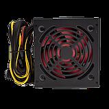 Блок питания ATX-500W 12 см 4 SATA OEM BLACK без кабеля питания, фото 2