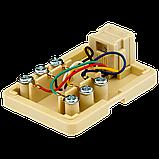 Розетка телефонная RJ12 1-порт LogicPower LP-6P4C, фото 2