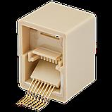 Соединительная коробка LogicPower UTP 2хRJ-45 кат.5Е LP-LNG-350 (5 шт), фото 3