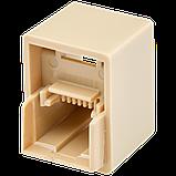 Соединительная коробка LogicPower UTP 2хRJ-45 кат.5Е LP-LNG-350 (5 шт), фото 4
