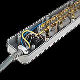 Фильтр-удлинитель сетевой LogicPower LP-X6, 6 розеток, цвет-серый, 1,8 m, фото 5