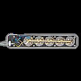 Фильтр-удлинитель сетевой LogicPower LP-X5, 5 розеток, цвет-серый, 10 m (OEM), фото 4