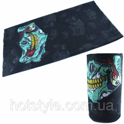 Бафф бандана-трансформер, шарф из микрофибры, 9 Лондон, 101318