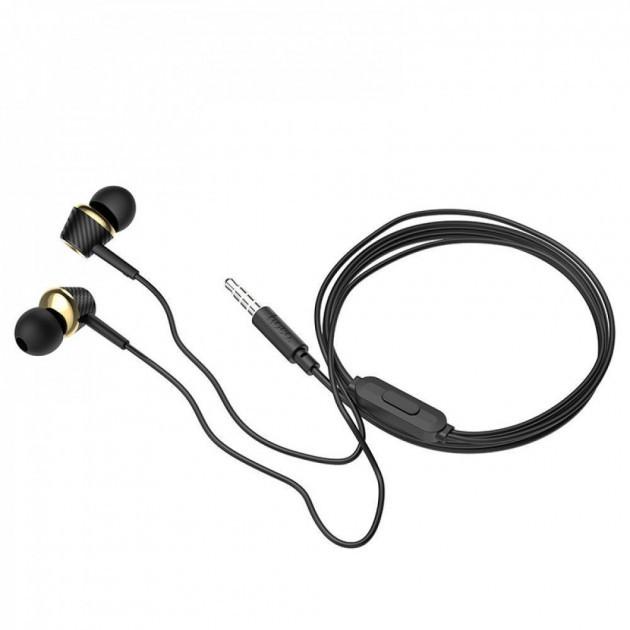 Наушники Hoco M70 Graceful Universal With Microphone (black)