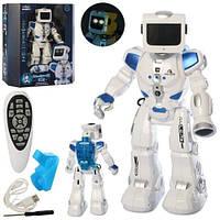 Интерактивная игрушка для детей Робот гидроэлектрический на радиоуправлении с пультом, свет и звуковые эффекты, фото 1