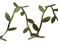 Тесьма фигурная с листьями 25 мм