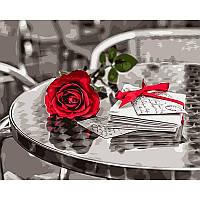 Картина рисование по номерам Babylon Красная роза. Фотохуд. Ассаф Франк 40х50см VP698 набор для росписи,