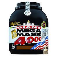 Гейнер Weider Mega Mass 4000, 3 кг Ваниль
