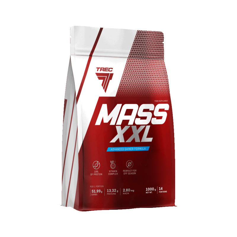 Гейнер Trec Nutrition Mass XXL, 1 кг Банан