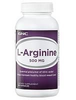 Аминокислота GNC L-Arginine 500, 90 капсул