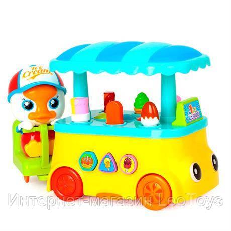 Музыкальная игрушка Huile Toys Утенок с мороженым (6101)