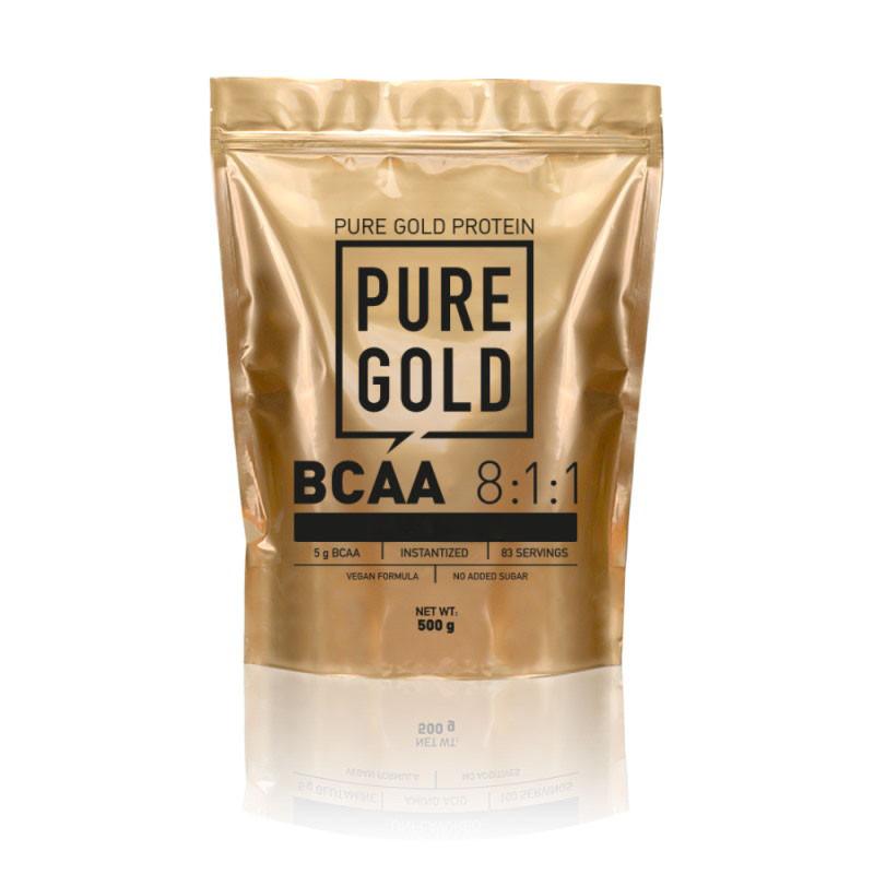 BCAA Pure Gold Protein BCAA 8:1:1 powder, 500 грамм Манго