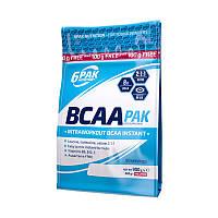 BCAA 6PAK Nutrition BCAA Pak, 900 грамм Личи-виноград