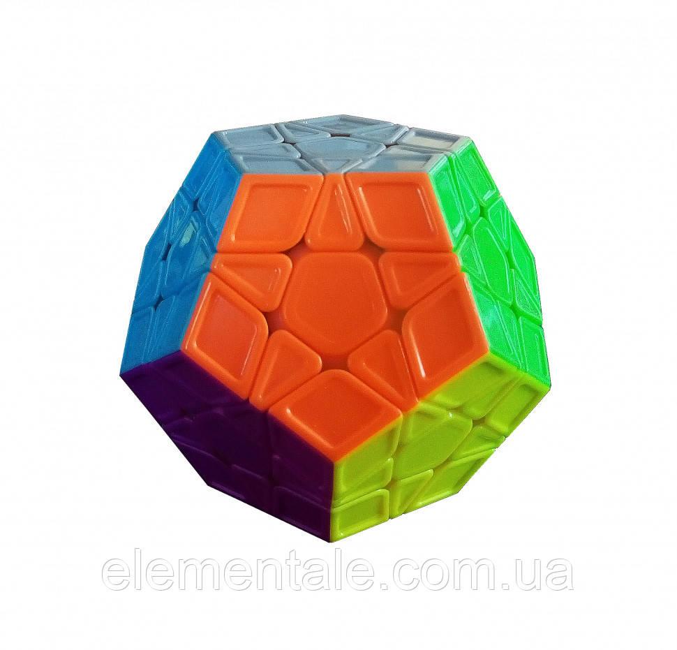 Кубик Рубика QiYi X-Man Megaminx Sculpture Stickerless 8 см