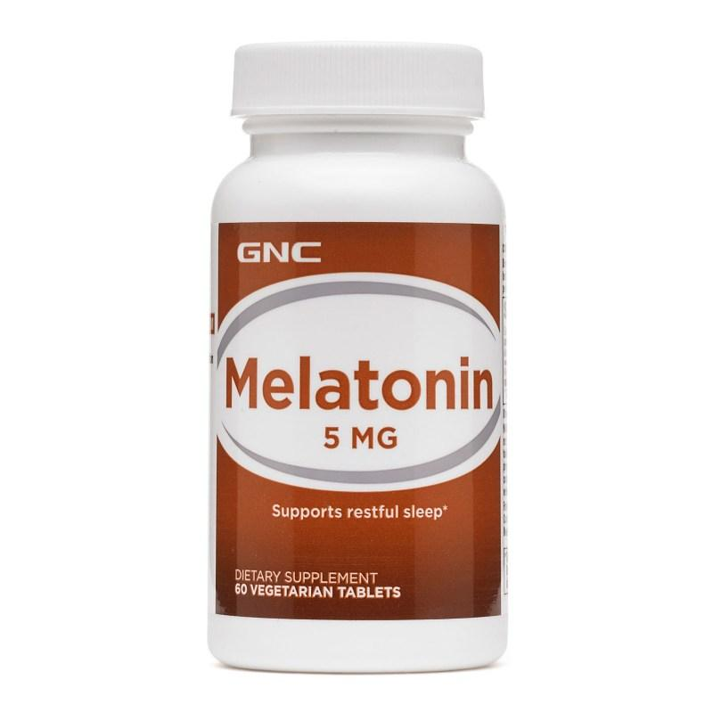 Восстановитель GNC Melatonin 5, 60 таблеток