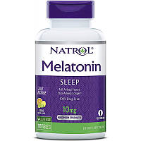 Восстановитель Natrol Melatonin 10mg Fast Dissolve, 100 таблеток Клубника