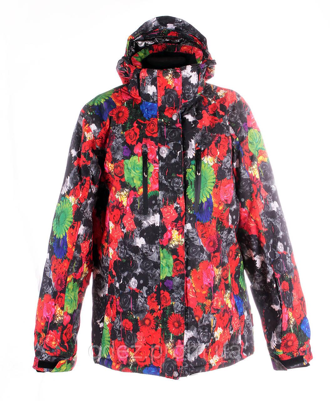 129e7293fdf2 Женская горнолыжная(лыжная) куртка Snow headquarter c Omni-Heat -  Интернет-магазин