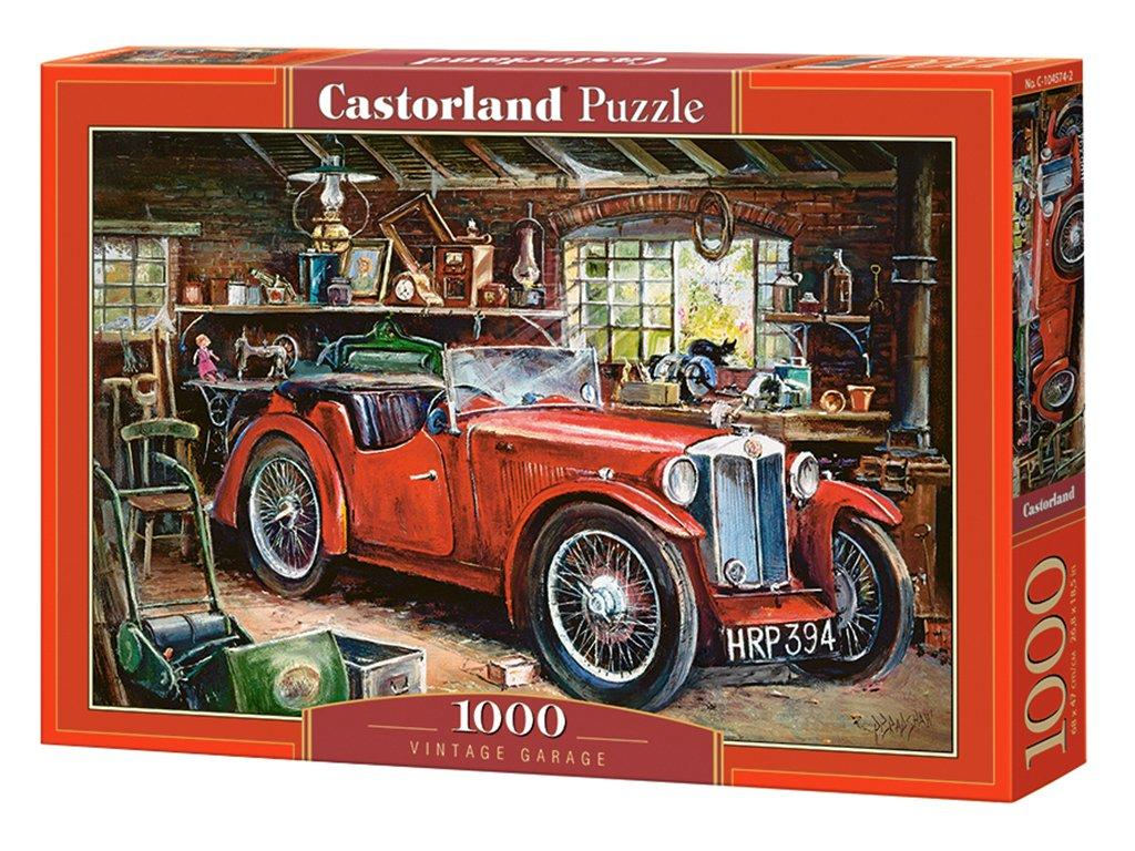 "Пазли Castorland ""Вінтажний гараж"" 1000 ел. (C-104574)"
