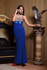 Платье вечернее фактурный креп, фото 3