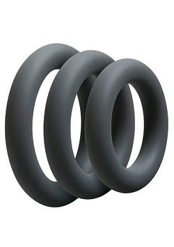 Набор эрекционных колец Doc Johnson OptiMALE 3 C-Ring Set Thick SO4008 код