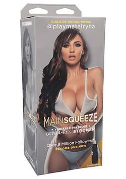 Мастурбатор вагіна Doc Johnson Main Squeeze - Girls of Social Media - @playmateiryna Pussy з ручним SO4022 код