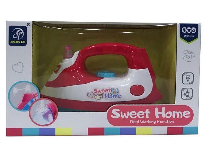 "Утюг JIN JIA TAI ""Sweet Home""свет, звук, в коробке 7933"