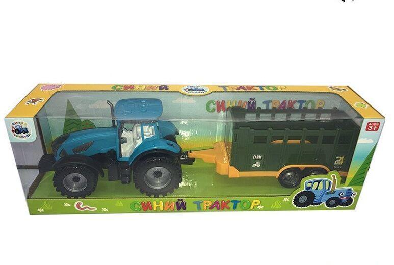 """Трактор """"Синий Трактор"""" звуковые эффекты   в коробке  0488-301CQ"""
