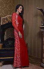Приталенное вечернее платье в пол, фото 3