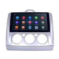 """Штатная автомобильная магнитола 9"""" Ford Focus 2 (2005-2011 г.) GPS Wi Fi IGO Android 8.1"""