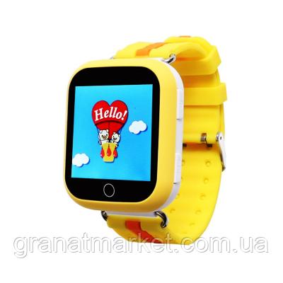 Детские умные смарт часы с Gps Smart Watch Q100 детские часы телефон наручные с трекером ( для мальчика и