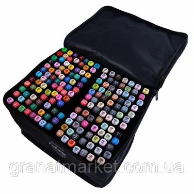 Набор двухсторонних скетч-маркеров Sultani Future 168 цветов