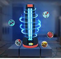 УФ бактерицидная озоновая кварцевая лампа светильник CARMEN-101R с пультом дистанционного управления, фото 6