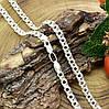 Серебряная цепочка Тройной бисмарк длина 60 см ширина 5 мм вес серебра 23.8 г, фото 4
