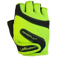 Перчатки для фитнеса PowerPlay 1729B XS Green (PP_1729B_XS_Green)