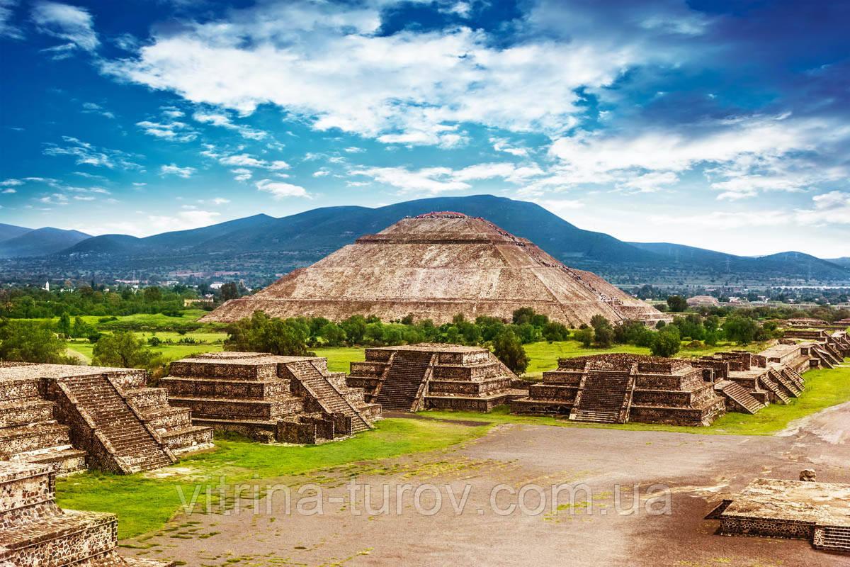 """Экскурсионный тур по Мексике """"Сокровища Пернатого Змея"""" на 17 дней / 16 ночей"""