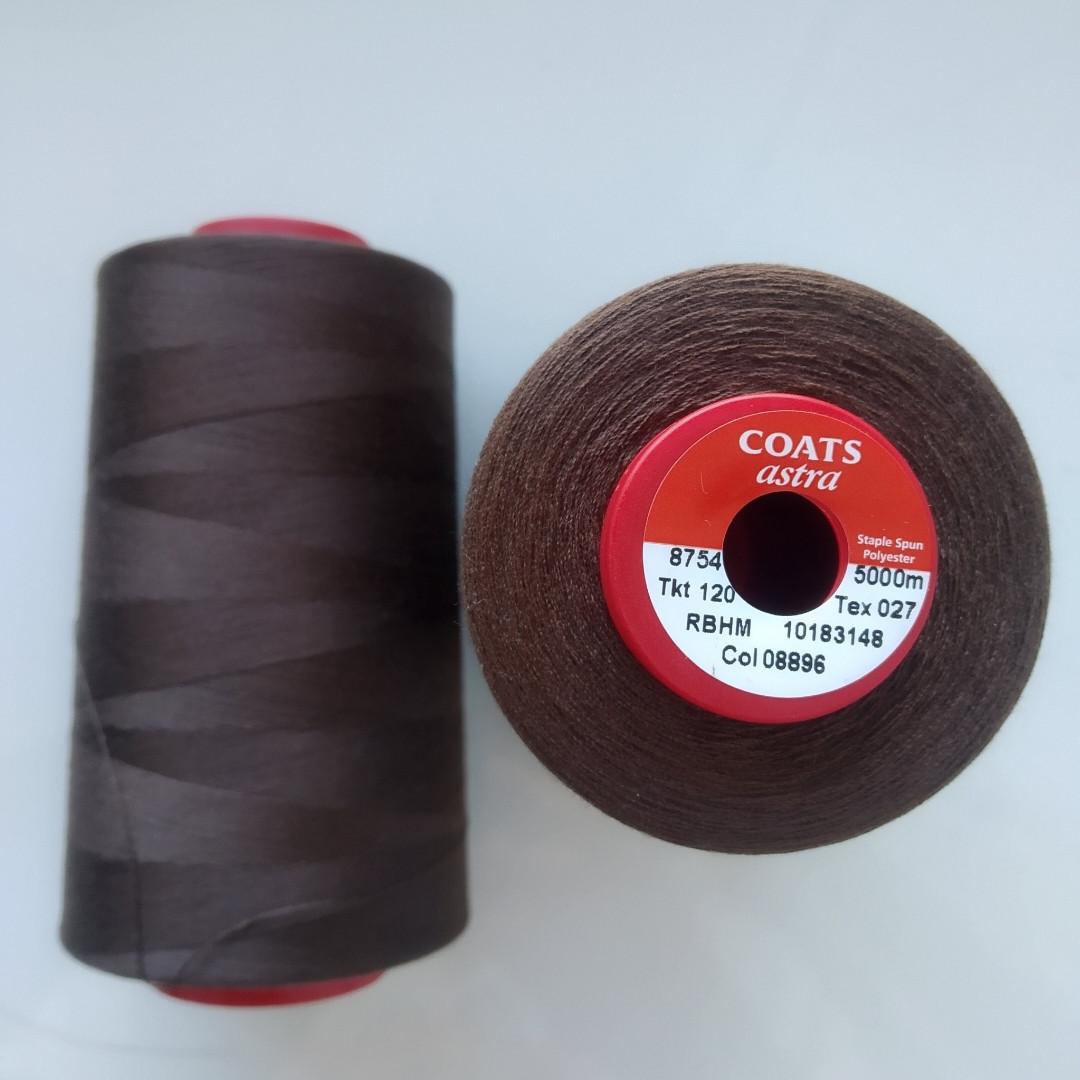 Нитки Coats Astra 08896/ 120, 5000м