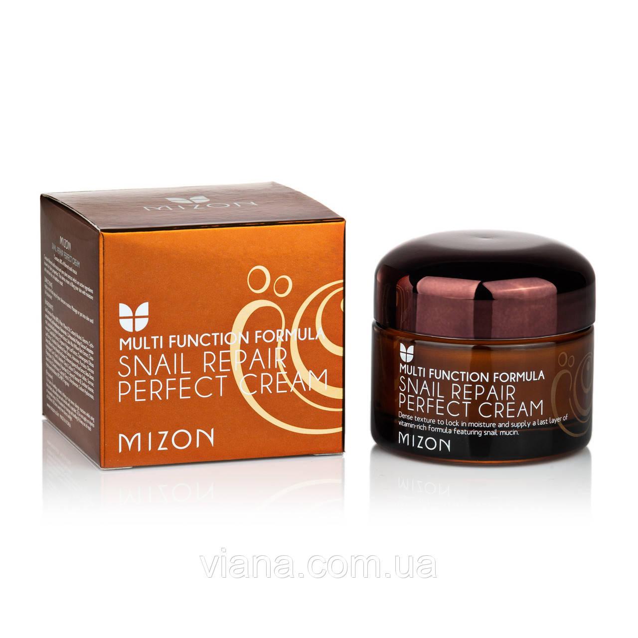 Питательный улиточный крем для лица MIZON Snail Repair Perfect Cream 50 ml