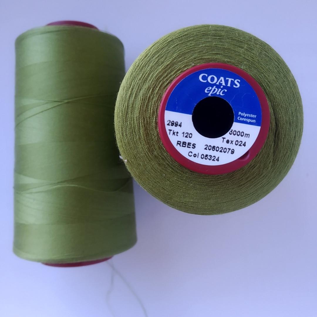 Нитки Coats Epic 05324/ 120/5000м