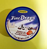 Леденцы Fine Drops яблоко-пунш 175 г