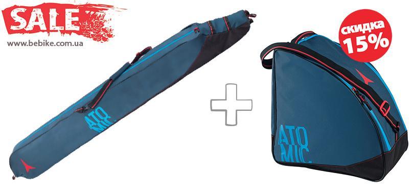 1bab5e892 Чехол для горных лыж и сумка для ботинок Atomic (акция!) - Доступный спорт